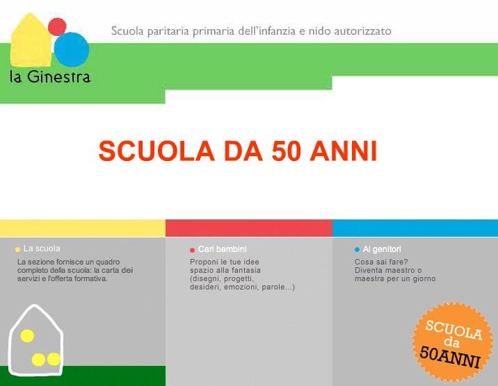 Scuola La Ginestra - 50 anni